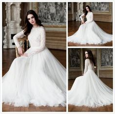I found some amazing stuff, open it to learn more! Don't wait:http://m.dhgate.com/product/2016-modest-pnina-tornai-ball-gown-wedding/394247803.html
