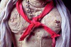 Detalle de una muñeca de trapo de tamaño real fabricada  por el artista venezolano Armando Reverón en su casa-taller de Macuto, El Castillete. [©2007-2014 Fotografía de Luis Brito / Orinoquiaphoto]