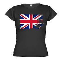 This T-shirt is for girls, is colour black, have sleeves, in the chest has the flag from UK, is so beautiful, the size is medium and the costs is $450
