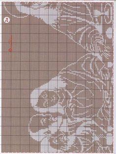 The Last Supper Cross stitch Filet Crochet, Crochet Diagram, Thread Crochet, Cross Stitching, Cross Stitch Embroidery, Cross Stitch Patterns, Crochet Patterns, Cross Stitch Boards, Religious Cross