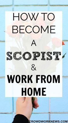 Scoping is a very lesser known but a perfect work at home career. Click through to find out everything about this super flexible and profitable work from home job. Work From Home Moms, Make Money From Home, Way To Make Money, Marketing Program, Affiliate Marketing, Finding A Hobby, Online Jobs From Home, Earn More Money, Money Fast