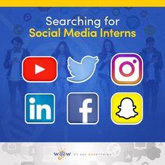 Get more social! Internship Program @ WAW Digital Marketing Agency. If interested send your resume to info@wawpr.com #wearewebrything