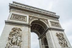 Arc de Triomphe de l'Étoile, Paris www.fgawronski.com