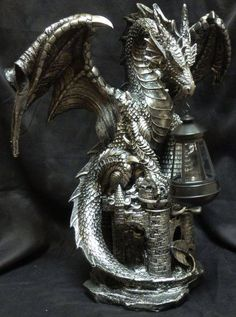 Dragon Themed Item-Oil Lamp.  Wish it was lamp post instead.
