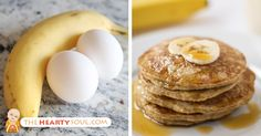 The benefits of bananas and eggs give them a good reason to boast! So here's how to make banana egg pancakes that can help you lose weight.