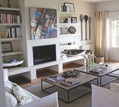 Meubles maçonnés : mobilier en béton, argile, crépi... - Côté Maison