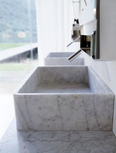 Agape - Prodotti - Lavabi - Carrara