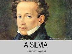 """Analisi della poesia """"A Silvia"""" di Giacomo Leopardi."""