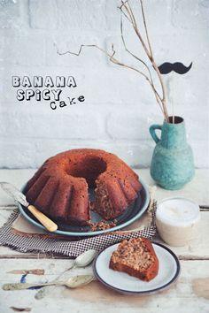 Spicy Banana Cake (Polish Recipe)