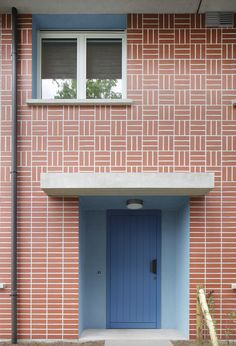 Brick Projects, Arch Building, Apartment View, Exterior Tiles, Glazed Brick, Wood Facade, Brick Art, Art Studio At Home, Brick Architecture
