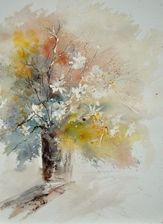 watercolor212072, painting by artist ledent pol