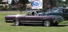 1967 Royal Plum El Camino