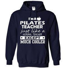 Pilates Teacher Cool Pilates T Shirt (*_*)