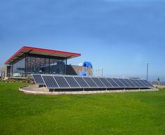 Asegure una parte de su consumo eléctrico con energís solar. Sistemas sobre suelos, Estación de servicio Copec