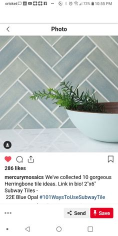 Many people believe that there is a magical formula for home decoration. You do things… Bathroom Farmhouse Style, Herringbone Tile, Herringbone Backsplash, Mercury Mosaics, Blue Herringbone Tile, Kitchen Island Decor, Decorative Backsplash, Blue Herringbone Backsplash, Island Decor