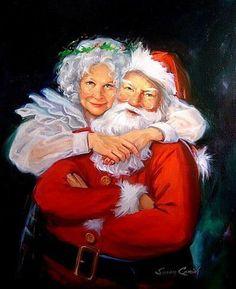 Hello! Alors, la Mère Noël, on en parle cette année? Vous savez, cette femme aimante qui travaille dans l'ombre de son bien-aimé.... source photo: susancomish.com/mamie86.over-blog.com