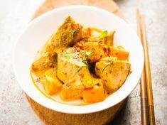 Veau et patate douce au curry