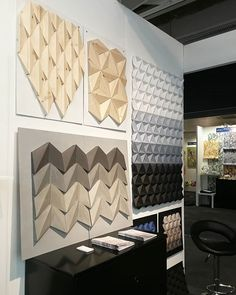 Really happy with the final look and with the amazing atmosphere of the Surface Design Show that started tonight and will continue for the next 2 days.  Meet us at the stand NT12  @kingkongdesign @surfacethinking @trendeaseintl #newtalent2020 #moduuli #paperdesign #paperart #paperartist #concrete #cementtiles #microcement #concretedesign #concretesurface #walldecor #wallart #homedecor #wallcovering #wallpanel #walltiles #handcrafted #wallhanging #handmadedecor #wood #woodwalldecor…