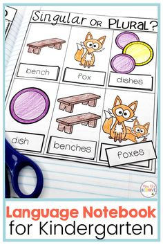 Help your students master those tricky Common Core Language standards with this kindergarten language interactive journal. Hands-on practice with phonics, grammar, and writing skills perfectly leveled for beginning learners. Writing Workshop, Writing Skills, Writing Process, Common Core Writing, Kindergarten Writing, Literacy, Interactive Journals, Writing Anchor Charts, Third Grade Reading