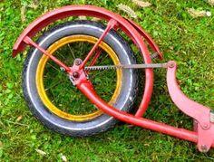 Wipproller à roues de 12,5 pouces, detail arriere