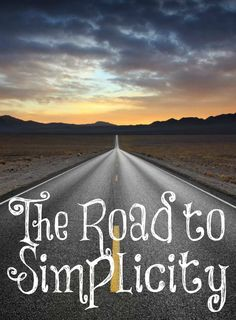 When you decide to live simply, it is not just being a tightwad or being frugal…