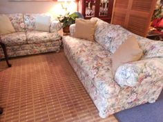 Sofa and Love Seat $308.00. - Consign It! Consignment Furniture