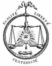This symbol used in the French Revolution has nothing to do with Equality, Liberty or Fraternity of all men, just a few men. The all seeing eye and snake and balance are symbols of the tribe of Dan, and the illumination of Lucifer. French Revolution Symbols, Revolution Tattoo, Haitian Revolution, Uv Tattoo, Future Tattoos, New Tattoos, Datum Tattoo, Balance Tattoo, Pagan Poetry