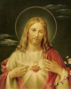 Sagrado coração de Jesus,nós esperamos e confiamos em vos! <3