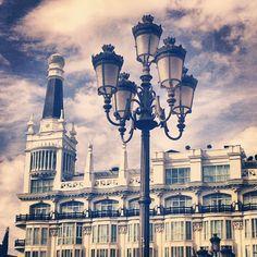 Plaza Santa Ana - Madrid ---> Madrid, Santa, Instagram Posts, Sky