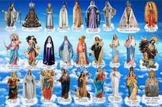 """Menina Maria de Nazareth: """"QUANDO A VIRGEM APARECE PARA SEUS FILHOS…"""" Parte ..."""