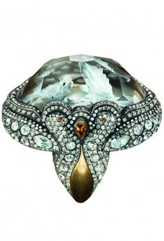 Sevan Bicacki..................      OMG  if this is enlarged you can see 2 doves carved.....LB...I googled him a new jewelry artist. doves inside a topaz ...I love this
