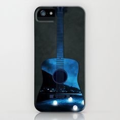 view from my guitar iPhone & iPod Case by Viviana González - $35.00