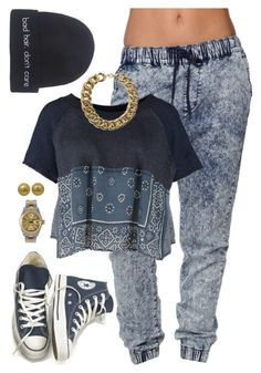 BLU by annellie on Polyvore featuring polyvore, fashion, style, Free People, Bullhead Denim Co., Converse, Rolex, Chanel and Wet Seal