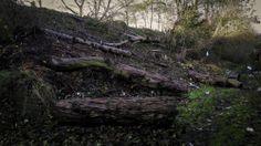 Disused railway bridge Tunstall - December 2013 - by Tim Diggles