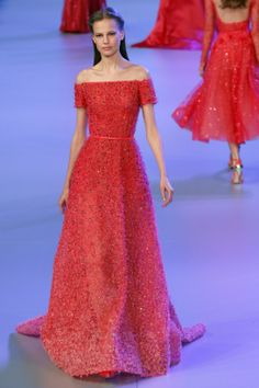 Elie Saab Red Dress