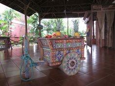 Costa Rican Typical Oxcart