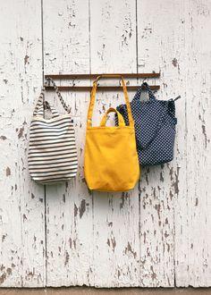 Baggu All-Purpose Recycled Canvas Tote Bags   www.rodales.com