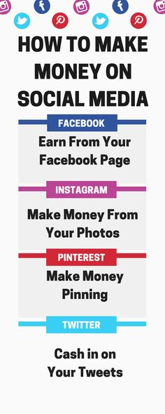 social media tips/how to make money on social media/facebook tips/instagram tips/make money pinning/pinterest strategies/make money from home/ways to make money/earn extra income/home jobs