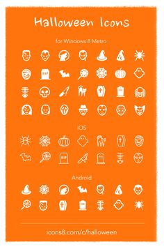 Halloween icons | Icons8