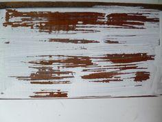 El decapado es uno de los efectos más usados cuando de reciclar un mueble viejo o decorar un objeto nuevo se trata. ¡Mira! Painting Laminate Furniture, Painted Furniture, Kitchen Dresser, Aging Wood, Recycled Furniture, Old Wood, Furniture Makeover, Chalk Paint, Wood Projects