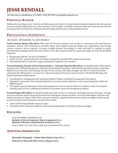 investment banking resume examples