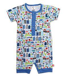 Super Hero Baby Henley Bodysuit