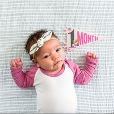 Milestone Pennants are a unique & perfect way to document your little one through their first year! Shop Lucy Darling Little Artist Monthly pennants! Toddler Car, Baby Needs, Back Seat, Child Safety, Newborn Photos, Newborn Photography, Baby Car Seats, Boy Or Girl, Baby Strollers