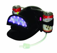 Can You Imagine Message Drink Hat by Can You Imagine. $24.99. Brim opens to show your message. 2 black light dry erase markers included. Includes 2 light show modes. Includes 10 built-in black light LED. From the Manufacturer                Can You Imagine writing a message which will glow magically when the show is turned on? We did. Presenting the new Message Drink Hat with a built-in Electronic Black Light show. Great to wear at Beer Pong Parties. Great for Home or Club use...