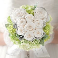 Bouquet - exactly what I want! Was thinking of cream flowers round the outside and smaller light blue flowers in the shape of Mickey on the inside for the BMs Cruise Wedding, Our Wedding, Dream Wedding, Wedding Ideas, Wedding Stuff, Hidden Mickey Wedding, Mickey Mouse Wedding, Light Blue Flowers, Cream Flowers