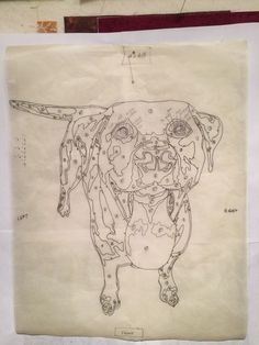 Pet portrait - 2dognightdesign.com