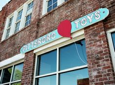 toy store in downtown Pittsboro