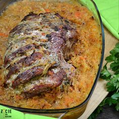 Polish Recipes, Impreza, Pork Recipes, Steak, Food And Drink, Menu, Lunch, Cooking, Easy Meals