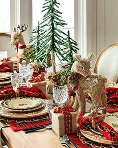 Woodland Christmas, Magical Christmas, Plaid Christmas, All Things Christmas, Christmas Home, Christmas Holidays, Outdoor Christmas, Xmas, Pier One Christmas