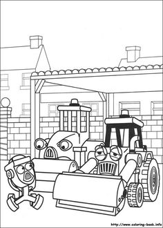 find this pin and more on coloring pages bob the builder